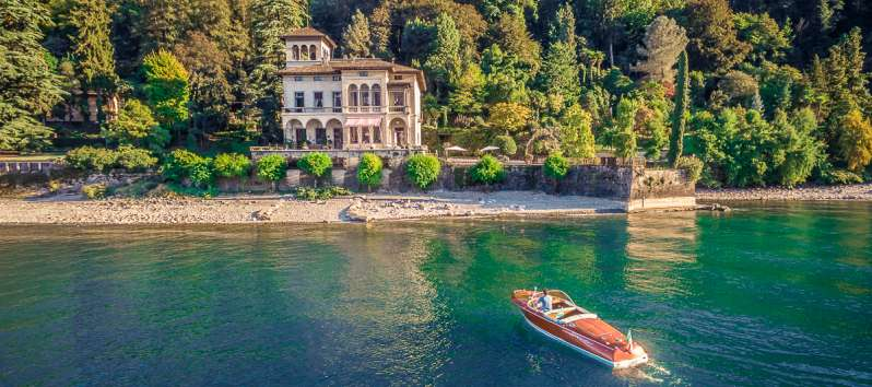 Amethyst villa on Lake Como in Bellagio